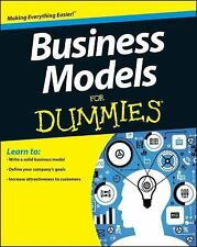 Business Models For Dummies by Muehlhausen, Jim