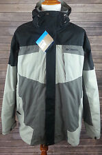 Columbia Men's Gray/Black Bugaboo 3-in-1 Interchange Parka XXL NWT SM7799