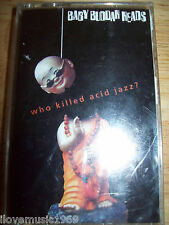 Baby Buddah Heads MINT Who Killed Acid Jazz SEALED cassette TAPE FREE US SHIPPIN
