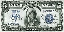 PHOTO MAGNET USA Reproduction 1889 5 Dollars Silver Certificate MAGNET