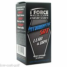 IForce intimidire SRT magra guadagni ANTI estrogen Burn FAT DAA Testosterone 30 cap