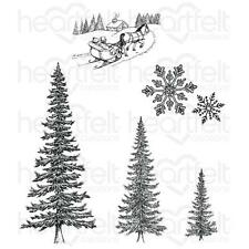 Heartfelt Creations Stamps ~ SNOW KISSED SPRUCE ~ HCPC3749
