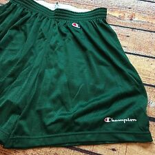 90s VTG CHAMPION MESH Gym PE XXL Shorts Script LOGO Pyrex OG Basketball Work Out