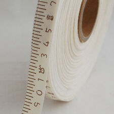 Cotton Fabric Ribbon Trim - Sewing Label - Measuring Tape