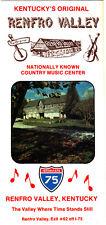 Renfro Valley Country Music Center Kentucky KY Photos Vintage Brochure 1988
