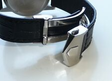 20mm Carrera Monaco Band Strap Alligator-Style w/ Deployment Clasp for TAG Heuer
