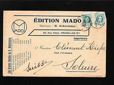 Belgium Edition Mado H. Ackermans BOTH SIDES Teddy Moon Fox Trot 1925 Cover 6z