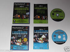 Taito Legends & Taito Legends 2 para el PLAYSTATION 2 tienen muy raro y difícil de encontrar""
