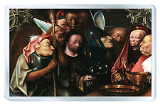 HIERONYMUS BOSCH - CHRIST BEFORE PILATE FRIDGE MAGNET IMAN NEVERA