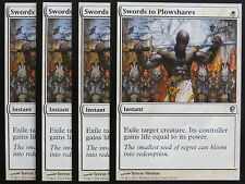 XXX 4x SWORDS TO PLOWSHARES englisch conspiracy (removal white) NM/MINT XXX XXX