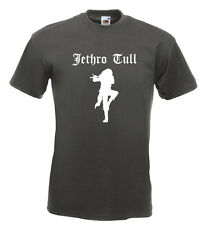 Jethro Tull Tee Shirt Ian Anderson Martin Barre Thick As A Brick  Aqualung