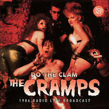 THE CRAMPS New 2016 UNRELEASED 1986 LIVE CONCERT & INTERVIEW 2 CD SET