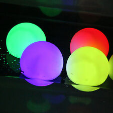 RGB Color Changing LED Floating Lights Ball for Party Pond Path Landscape Garden