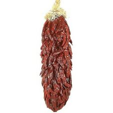 """Red Chile Ristra. Edible- Approx 24"""" Hand-tied Chili Pepper String. Hatch Nm"""