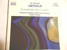 Sir Malcolm Arnold: Symphonies Nos. 5 and 6 CD