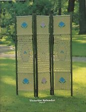 Room Divider Screen Pattern Instructions in #SP4 Macrame Enchantment Book 4