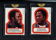 1975 Topps Good Times TV Show (2) Proof Sticker Set Auction #1