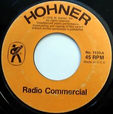 SOUNDS OF HOHNER 45 Various Instruments RADIO SPOT Commercial w1249