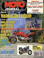 MOTO JOURNAL 1010 YAMAHA XJ 600 S Diversion Montesa Cota 311 HARLEY DAVIDSON 91