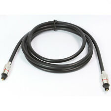 6FT Digital Audio Optical Optic Fiber Cable Toslink SPDIF Cord 6F 1.8 Meter High