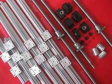 3 SBR25 sets +3 ballscrews RM2505-450/1050/1450mm+3BK/BF15 +3 couplers