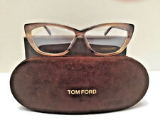 Tom Ford Women's Eyeglasses TF 5227 050 Striped Brown  54-10-130 NEW AUTHENTIC