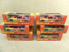 6 New 1996 Revell 1:24 NASCAR McLaughlin Autograph Royal Oak Monte Custom Donor