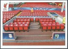 PANINI LIVERPOOL STICKER-2014/15- #173-ANFIELD-THE DUGOUT