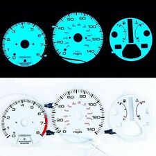 for HONDA ACCORD AT 1990-1993 EL Glow Gauge Indiglo Dash Face Cluster Gauge