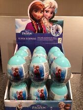 18 (full Box) X Disney Frozen Super Surprise Eggs Party Bag Filler Gift