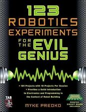123 Robotics Experiments for the Evil Genius (TAB Robotics), Myke Predko, Good B