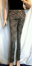 Size 10 George brown ornate skinny trousers VGC goth pagan steampunk FREE P&P