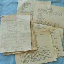 Military WW11 CATERING RATIONS TELEGRAM + INFO / Home Service recipes 1941