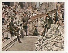 Soldiers German Saint-Quentin Aisne  Deutsches Heer WWI WELTKRIEG 14/18 CHROMO