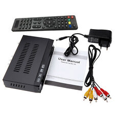 HDTV Player HD 8W Multi-resolution Digital Satellite TV Receiver USB 3G Wifi New