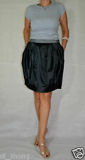 Women Black Club evening Mini Skirt with Pockets Shine Vero Moda Size 14