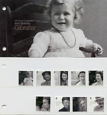 Gibraltar 2016 MNH Queen Elizabeth II 90th Birthday 10v Set Presentation Pack
