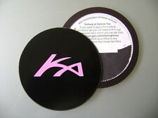 Magnetic Tax disc holder fits any ford ka pink logo titan
