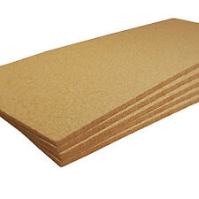 "12"" X 36"" X 1/4"" PLAIN CORK SHEETS PACK OF 5"