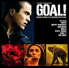 Goal Soundtrack CD NEW Oasis/Bees/Happy Mondays/Kasabian/Dirty Vegas/Unkle+