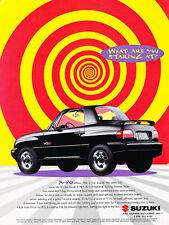 1997 Suzuki X-90 X90 - Original Advertisement Car Print Ad J313