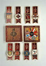 Pin's Soviétiques. URSS' pin. Hockey 1979. Full set of 10 items. ХОККЕЙ.