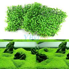 New Artificial Decor Plastic Water Grass Green Plant Lawn for Aquarium Fish Tank