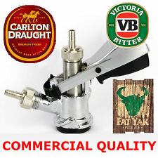 D Type Keg Beer Coupler CUB Carlton Draught, American Sankey, VB, 50L Commercial