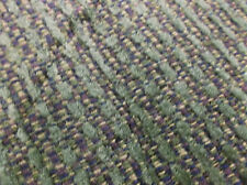 34 yd Green Stripe Tweed like Pattern Professional Quality Upholstery fabric NEW