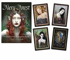 The Faery Forest Oracle: An Oracle of the Wild Green World by Lucy Cavendish