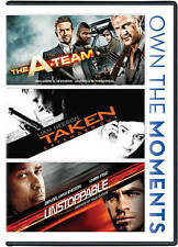 A-Team/Taken/Unstoppable (DVD, 2014) SKU 1308