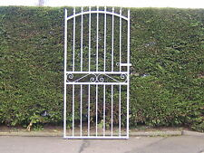 Strong tall garden side gate  6ft tall 3ft 3ins  wide opening  galvanized !  L/H