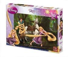 Enfants 50 Pièces Disney Tangled Puzzle Raïponce & Cheval 4738A