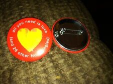 THE BEATLES 1's All You Need Is Love  - RARE Special promotional Button